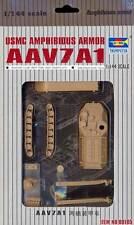 Trumpeter AAV7A1 USMC Amphibious Armor Modell-Bausatz 1:144 Tipp Panzer NEU kit