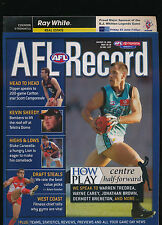 2004 AFL Football Record Essendon Bombers Fremantle Dockers Round 10 unmarked