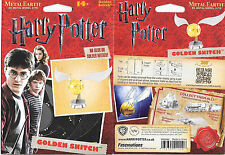Harry Potter Movies Golden Snitch Figure Metal Earth Steel Model Kit NEW SEALED