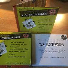 PUCCINI:LA BOHEME-N.Y. MET OPERA 1947-SONY 20 BIT MASTERED 2CD BOXSET 1997-NEW