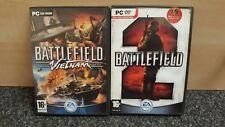 PC-BATTLEFIELD: Vietnam + Battlefield 2-COMPLETO