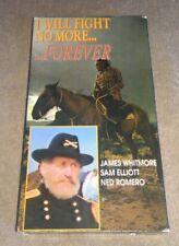 I Will Fight No More Forever VHS Tested Sam Elliott James Whitmore Ned Romero