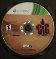 Power Gig Rise of the SixString Xbox 360 Video Game Disc Only Tested Black Case