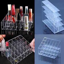 24 Compartiment Présentoir Rouge Lèvre Organisateur Rangement Cosmetique Cadeau