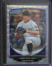 2013 Bowman Chrome Silver Shimmer Refractor #BDPP26 Jonathan Gray No 15 of 25