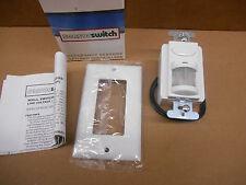 Sensor Switch WSD-P-WH Wall Switch Decorator Sensor