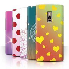 Étuis, housses et coques jaunes pour téléphone mobile et assistant personnel (PDA) OnePlus