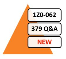 2020 Updated 1Z0-062 Exam 379 Q&A PDF File!