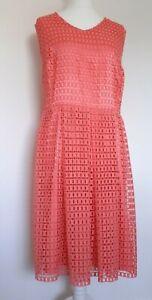 Lovedrobe Woman's Dusky Pink Sleeveless Skater Dress Size 24 uk  eu 52 - Wedding