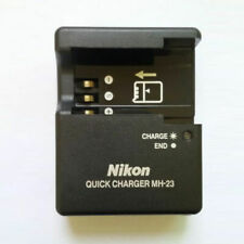 MH-23 Charger For Nikon EN-EL9A EN-EL9 Battery D40x D60 D3000 D5000 D40 MH23-USA