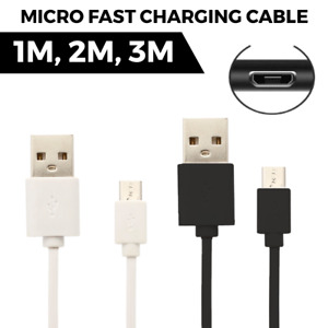 For HUAWEI P SMART + Mobile Phone CHARGER CABLE MICRO USB CHARGING LEAD 1M/2M/3M
