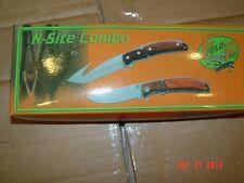 """Frost Cutlery Field Pro Hunting knife set - 8"""" skinner+4.5"""" closed folder+sheath"""
