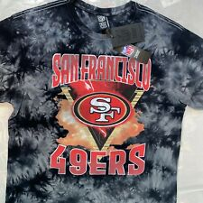 NEW San Francisco 49ers T-Shirt Size Medium Tie Dye Authentic NFL Apparel Tee