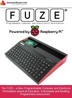 FUZE - The Ultimate Case for Raspberry Pi - Case Only - for RPi B+ & RPi V2