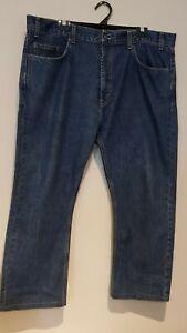 Kirkland Signature Men's Size 40 x 32 Blue Jeans Denim Pants Pre Owned