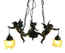 3 LIGHT CHERUB PENDANT (TWO TONE BROWN) CEILING LIGHT - WILL SHIP AUSTRALIA WIDE