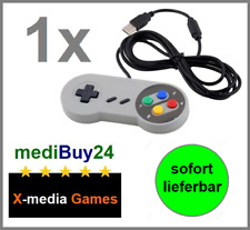 USB Nintendo SNES Controller Joypad Gamepad für PC MAC Computer *NEU*