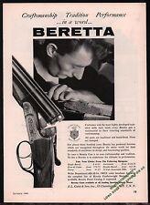1961 BERETTA Shotgun Craftsman at work AD