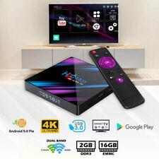H96 Android 10.0 TV Box 2GB 16GB Quad Core HD 6K HDMI WIFI 5G Media Player US
