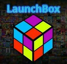 Launchbox Retroarch Emulator Plug and Play 1TB External Hard Drive Edition *NEW*