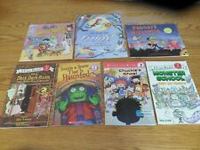Lot of 7 Children's HALLOWEEN Books:  Ghosts*Froggy*Monster*Haunted House*More