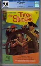 THREE STOOGES #33 - CGC 9.0 - SHIVER ME TIMBERS! PHOTO COVER - 2021063008