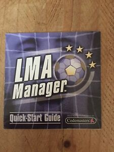 LMA Manager For Sony PlayStation Instruction Manual