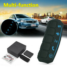 Universal Auto Car Steering Wheel Multi-function Controller Button w/Blue Light