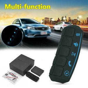 Universal Auto Car Steering Wheel Multi-function Controller Button w/Blue Light