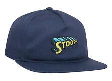 Huf Worldwide Skateboard Cap Snapback 5 6 Panel Dad Hat Stoops Navy Blazer
