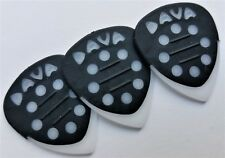 DAVA Control Grip Tip Guitar PICKS 3 PICKS White