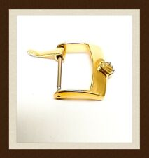 16mm gold plated buckle replacement for Rolex watch strap