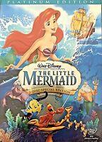 Little Mermaid 2-Disc DVD (Disney/Platinum Edition / Brand New / Free Shipping)