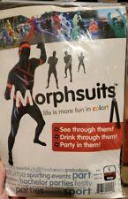 "Morphsuit - NINJA Adult Costume - SIZE Large (fits 5'4"" - 5'10"")"