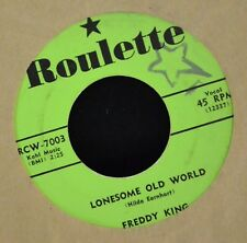 Freddy King Roulette 7003 Lonesome Old World and Fortune Teller EX