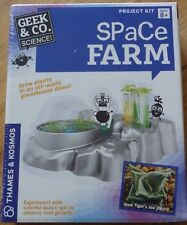 Space Farm Geek & Co. Thames & Kosmos Science Project Kit Plants garden