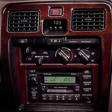 WOOD CAR DASH TRIM PREMIUM KIT 17 PCS FITS TOYOTA 4 RUNNER 1999-2002 MANUAL TRAN