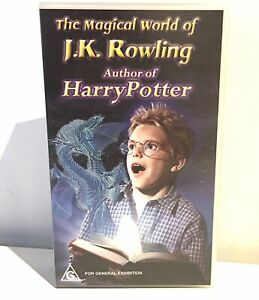 The Magical World of J. K. Rowling - Vhs