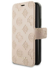 Guess iPhone 11 funda para móvil 4g Peony colección book cover case beige