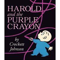 Harold and the Purple Crayon by Johnson, Crockett