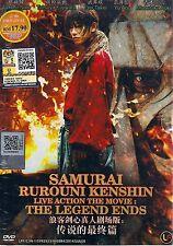 Samurai Rurouni Kenshin: The Legend Ends Japan Live Action Movie New Box Set