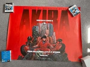 Akira Cinema Quad Poster