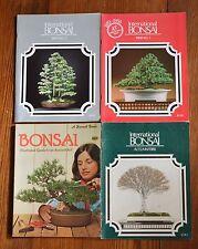 Lot of 4:3 International Bonsai mags 1980-91 & Bonsai book Sunset 1979 tree care