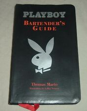 2003 Playboy Bartender's Guide Thomas Mario LeRoy Neiman Barnes Noble Mixology