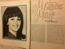 Marlo Thomas, Two Page Vintage Clipping