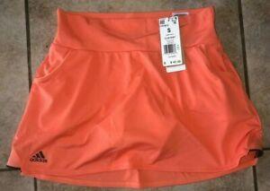 Adidas Club Tennis Skirt Skort Amber Womens NWT