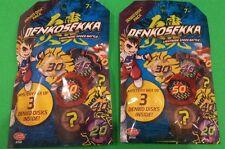2 Denkosekka Denko Sekka Blind Bag Mystery Disks ! Total of 6 Mystery Disks New!