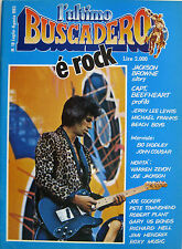 BUSCADERO 18 1982 Jackson Browne Jerry Lee Lewis Captain Beefheart Bo Diddley