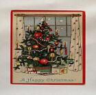 Árbol De Navidad Impreso En Panel De Tela Make A Cojín Tapicería Manualidades