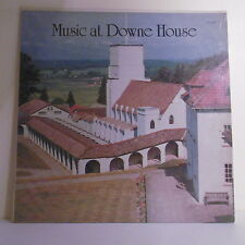 "33T MUSIC AT DOWNE HOUSE Disque LP 12"" A. SIDEBOTTOM Orgue T. SELBY - DISCOURSES"
